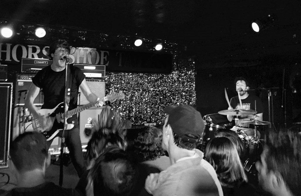 Japandroids performing at Toronto's legendary Horseshoe Tavern, which celebrates its 69th birthday this year.